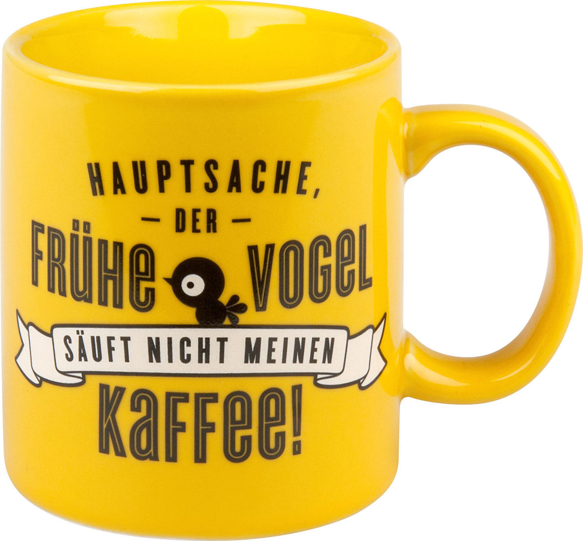 waechtersbach henkelbecher kaffeetasse becher lustige tassen f rs b ro 330ml ebay. Black Bedroom Furniture Sets. Home Design Ideas